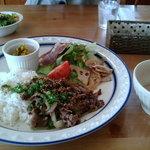 カシュカシュ - 料理写真:日替わりプレート・日替わりスパゲティなど