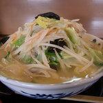 麺家 匠 - 料理写真:匠特製塩ダレと、たっぷりの野菜のコラボレーションが魅力の新メニュー「野菜たっぷりびっくりタンメン」