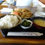 36150723 - 生姜焼き定食1100円
