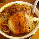 麺極 はなみち - 味噌の極(ワルフザケ)