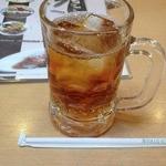 本家さぬきや - ドリンク写真:ジョッキウーロン茶(260円)