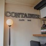 コンテナ カフェ&バー - 店長さん気さくな雰囲気で良い感じでした*