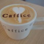 Caffice - 店名入りカフェラテ*
