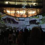 世界のビール博物館 - プロジェクションマッピング、キレイでした!