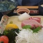 あらし - 特選刺身定食1500円