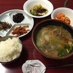 別味食堂 - 野菜スープのセット