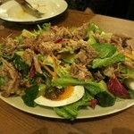 サジヤ - 皮付豚すね肉のサラダ