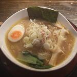天下ご麺 大津店 - 近江塩鶏麺(塩ラーメン)