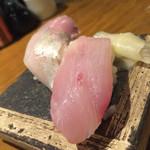 庵GuRi 5566 - お通しがお寿司