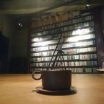 JAZZ茶房 青猫 - 青猫コーヒーとCDラック