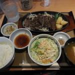 やよい軒 - ビーフステーキ定食¥790-
