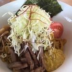 麺屋 朱雀 - 特製カレー油そば