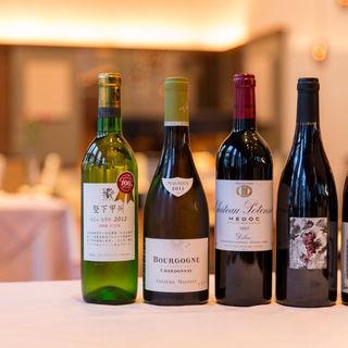 コストパフォーマンス重視のソムリエ厳選ワイン