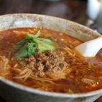 MAO - タンタン麺(白) スープがサッパリなので、飲み干せちゃいました