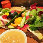 36159769 - 野菜のバーニャカウダ
