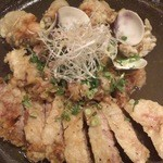 牡蠣屋うらら - 豚の天ぷら