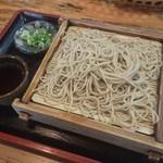 池田 - 料理写真:もりそば