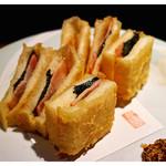 十八番 - 「サンドウィッチの天ぷら」(2014.09)