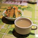 ジェニス - スープ&サラダ☆