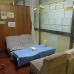 札幌市交通局本局食堂 - なぜか避けてしまうソファー席