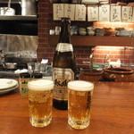 北新地たゆたゆDX - スーパードライ瓶ビール:500ml:580円