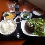 桂木4丁目レストラン - 和風ハンバーグ御膳