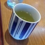 かつ里喜 - お茶
