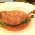 ル・トランブルー - ホロホロ鷄モモ肉の煮込み