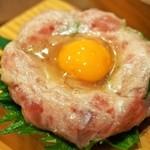 浪花ろばた 頂鯛 - 頂鯛定食Plus(マグロのネギトロユッケ)