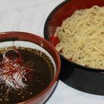 稲毛ラーメン帝国本部 - 黒坦々つけ麺 ¥700