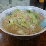 36171489 - ちゃんぽん…野菜は程々に多く炒め具合は最高ですな。
