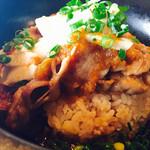 marusan&wacca - 長芋と豚バラの生姜焼き丼