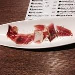 鉄板焼とワイン×日本酒 COCOLO - 国内産生ハム