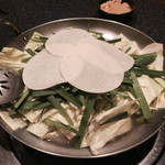 水炊き風もつ鍋 もつ彦 - 水炊き風もつ鍋