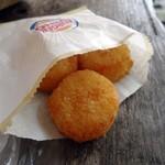 36173585 - コロンコロンのカリッとな。「チーズビッツ」100円也。