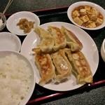 36176656 - 豚肉焼餃子セット 650円