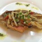 魚屋直営食堂 魚まる - バター焼きアップ
