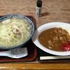 辰巳庵 - 料理写真:タンメン+カレーライス(850円)