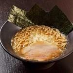 岩本屋 - 料理写真:煮干白湯