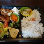 孝 - 2015.06 お昼のテイクアウト用の弁当(650円)