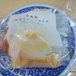 無添くら寿司 - ミルクシューアイス108円(2015.03.15)