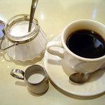 丘 - 「ナポリタンセット」コーヒー
