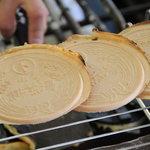 遠江屋 - 料理写真:手焼き湯せんぺい