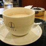 ライブコーヒー - カフェラテ。