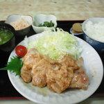 てつ膳 - 料理写真:豚しょうが焼定食