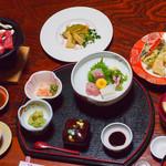 菊池温泉 清流荘 - 夕食です♪