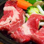 菊池温泉 清流荘 - 夕食のお肉♪