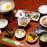 菊池温泉 清流荘 - 朝食です♪