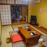 菊池温泉 清流荘 - 決して防音がいいとかいう新しい部屋では無いですが、あたたかみがあります^^