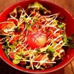 ビバラビーダ - 豚肉の辛味噌炒め丼 ¥680